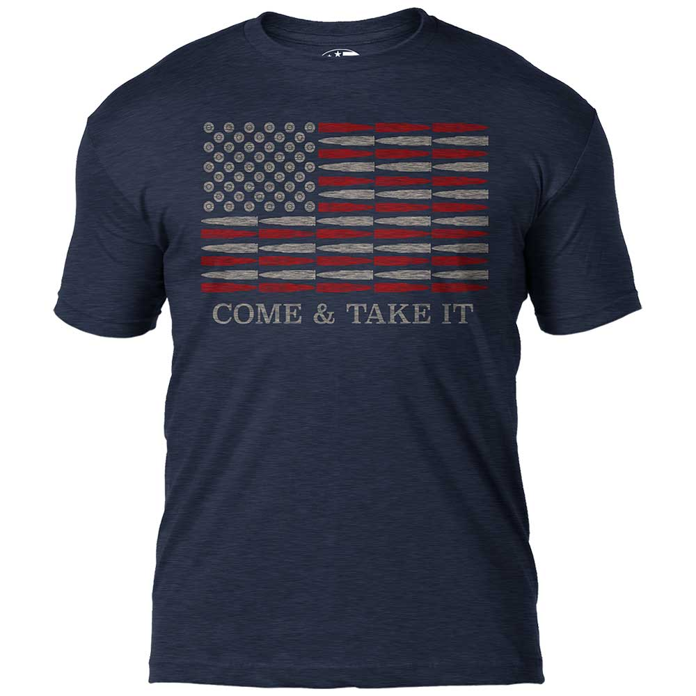 Come & Take It 7.62 Design Premium Men's T-Shirt- 7.62 Design