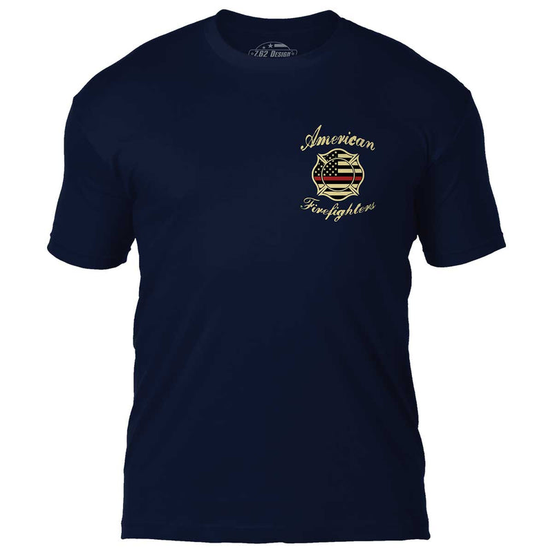 American Firefighters 7.62 Design Premium Men's T-Shirt- 7.62 Design
