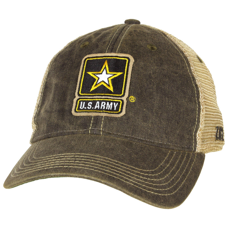 US Army Logo Vintage Trucker Hat