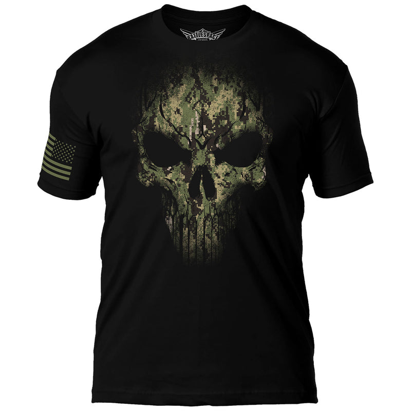 US Navy Type-3 Skull 7.62 Design Battlespace Men's T-Shirt- 7.62 Design