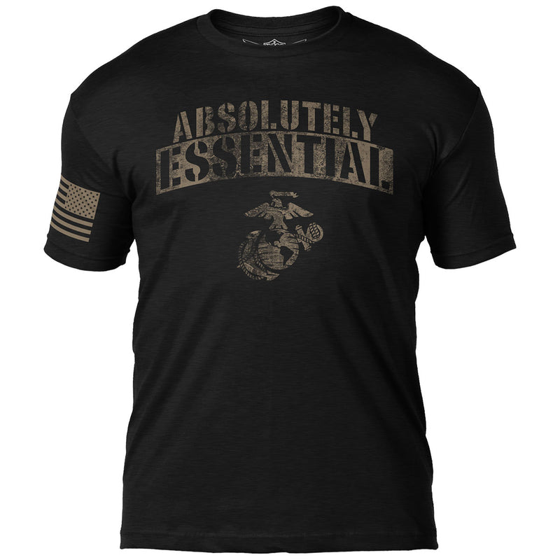 USMC 'Absolutely Essential' 7.62 Design Battlespace Men's T-Shirt