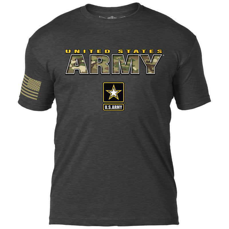 Army Camo Text 7.62 Design Battlespace Men's T-Shirt