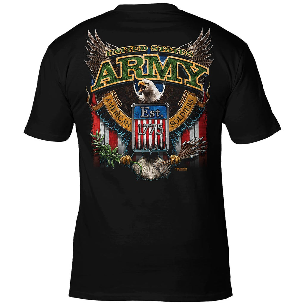 Army 'Fighting Eagle' 7.62 Design Battlespace Men's T-Shirt- 7.62 Design