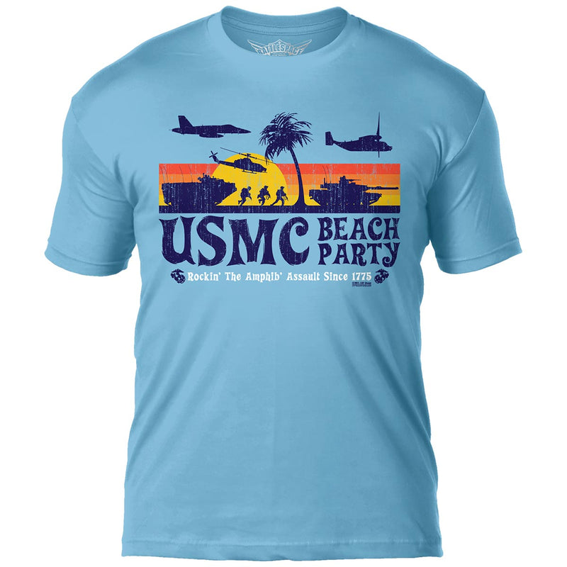 USMC EGA 'Distressed' 7.62 Design Battlespace Men's T-Shirt