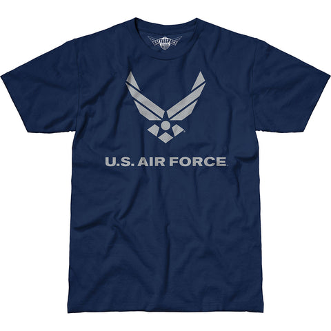 USAF 'Flight' 7.62 Design Battlespace Men's T-Shirt Navy