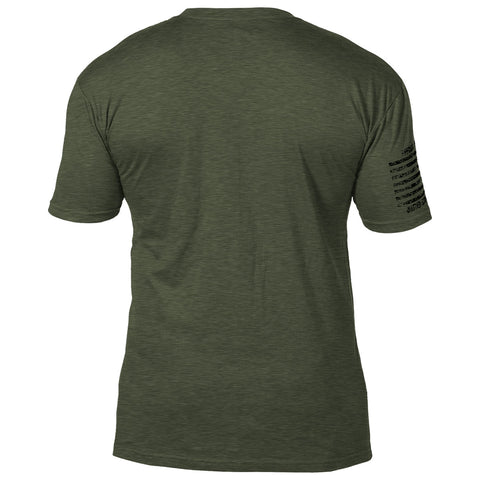 Army Special Forces 'Distressed' 7.62 Design Battlespace Men's T-Shirt