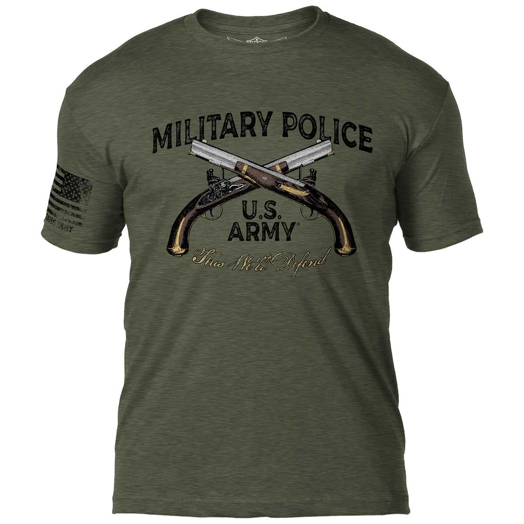 Army Military Police 7.62 Design Battlespace Men's T-Shirt- 7.62 Design