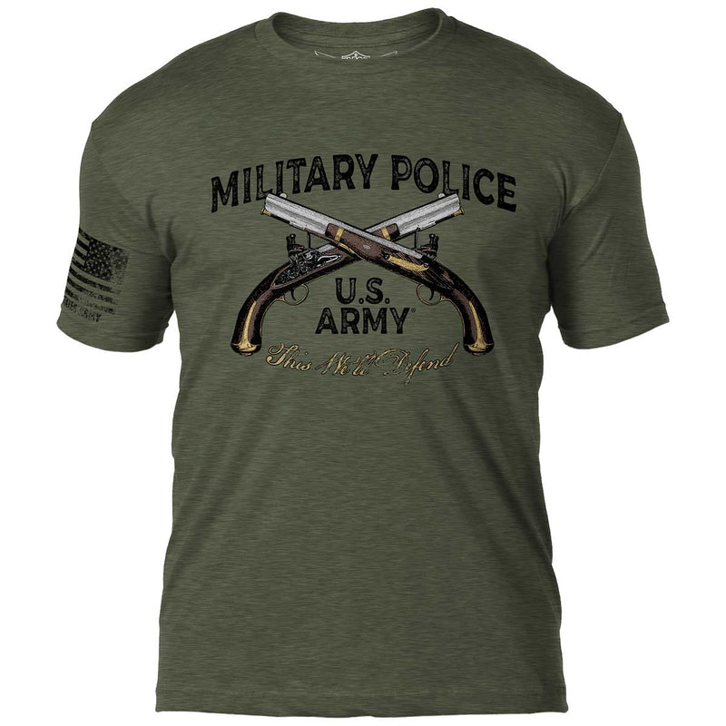Army 1st Infantry 'Vintage' 7.62 Design Battlespace Men's T-Shirt