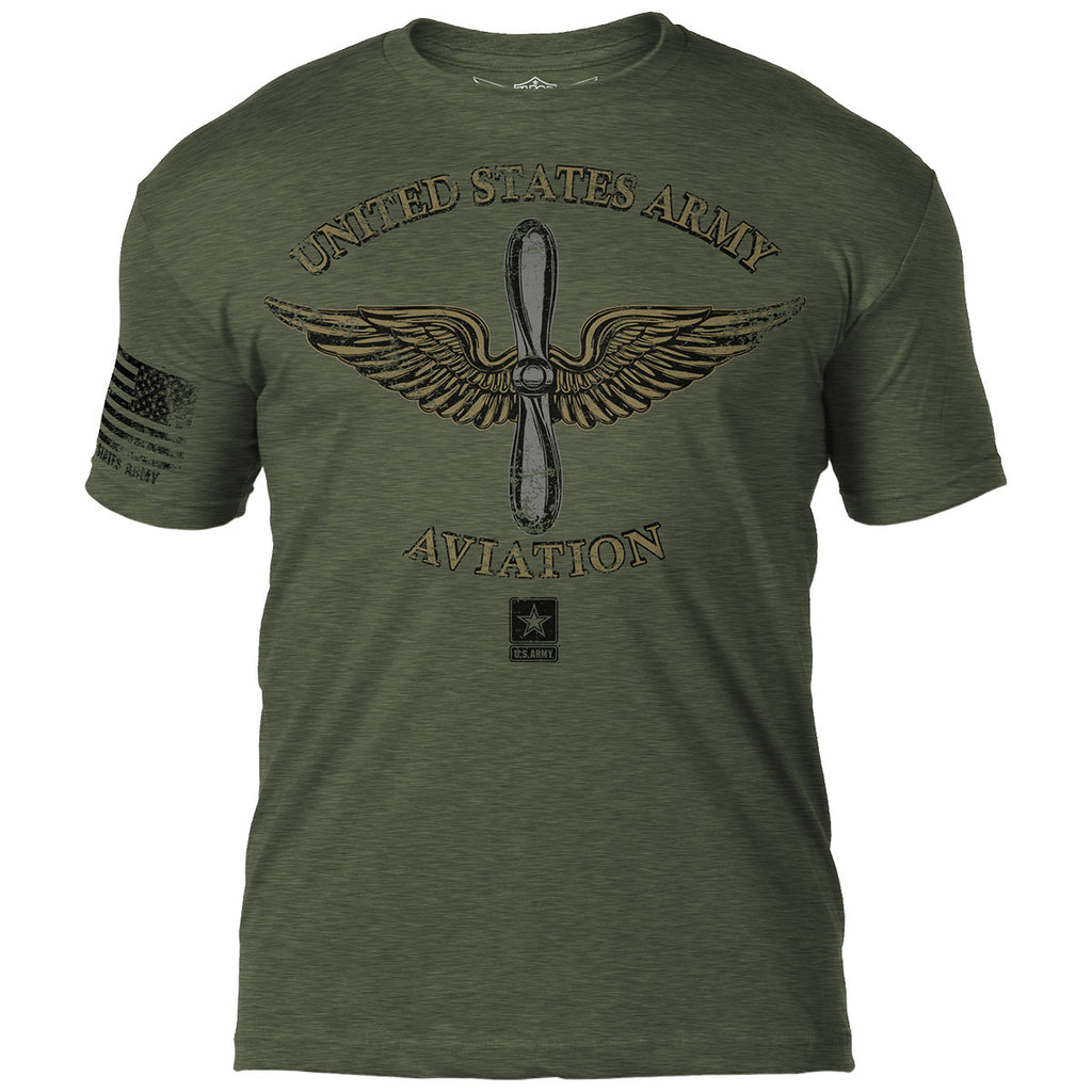 Army Aviation 7.62 Design Battlespace Men's T-Shirt- 7.62 Design