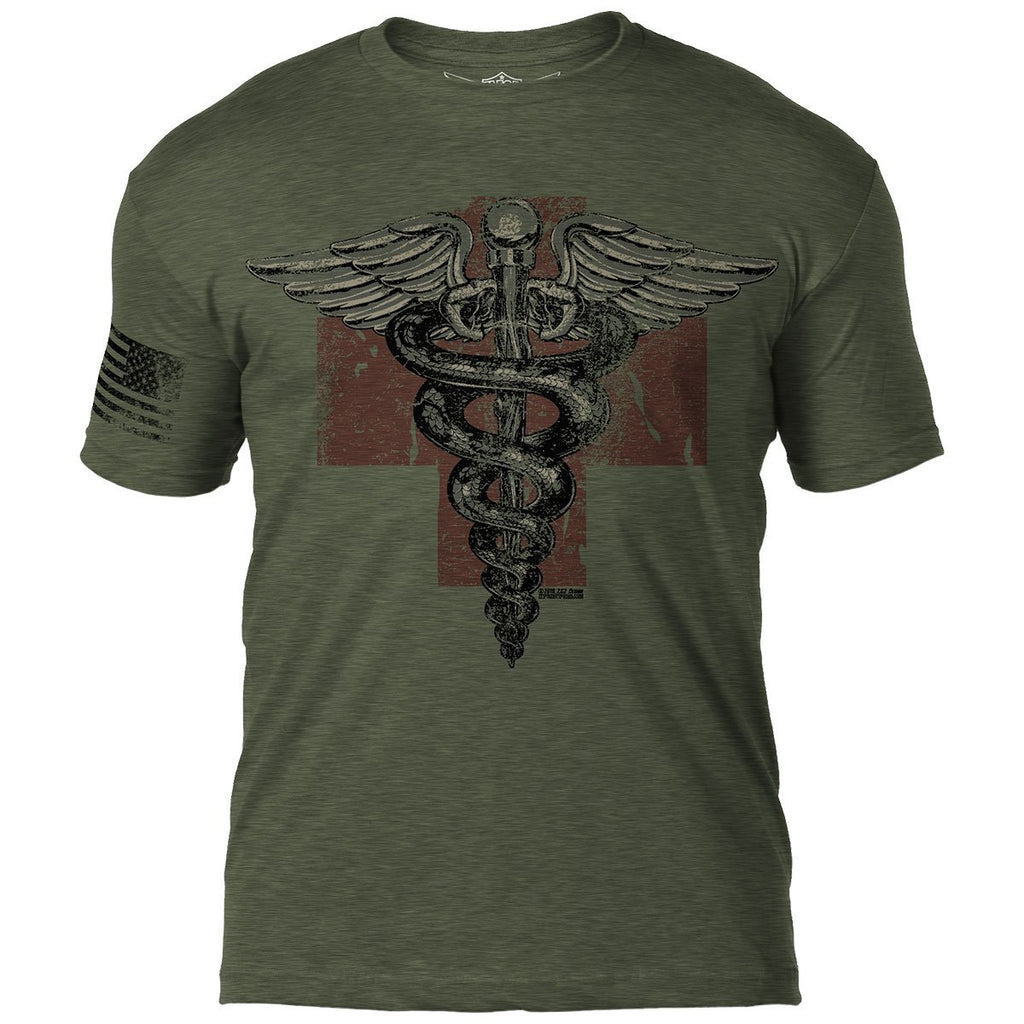 Vintage Medic 7.62 Design Battlespace Men's T-Shirt- 7.62 Design