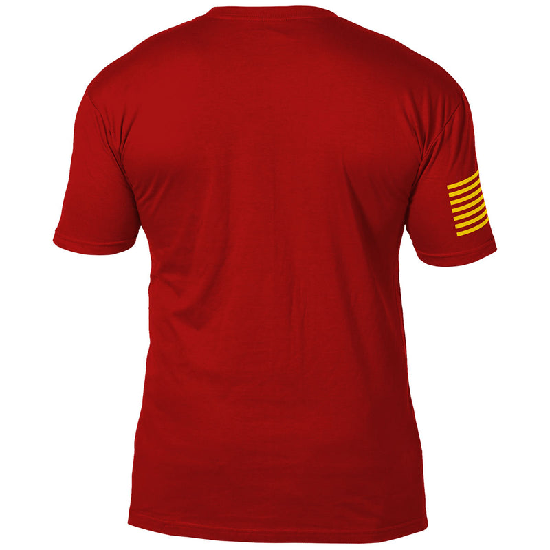 USMC ' Arched Semper Fi' 7.62 Design Battlespace Men's T-Shirt- 7.62 Design