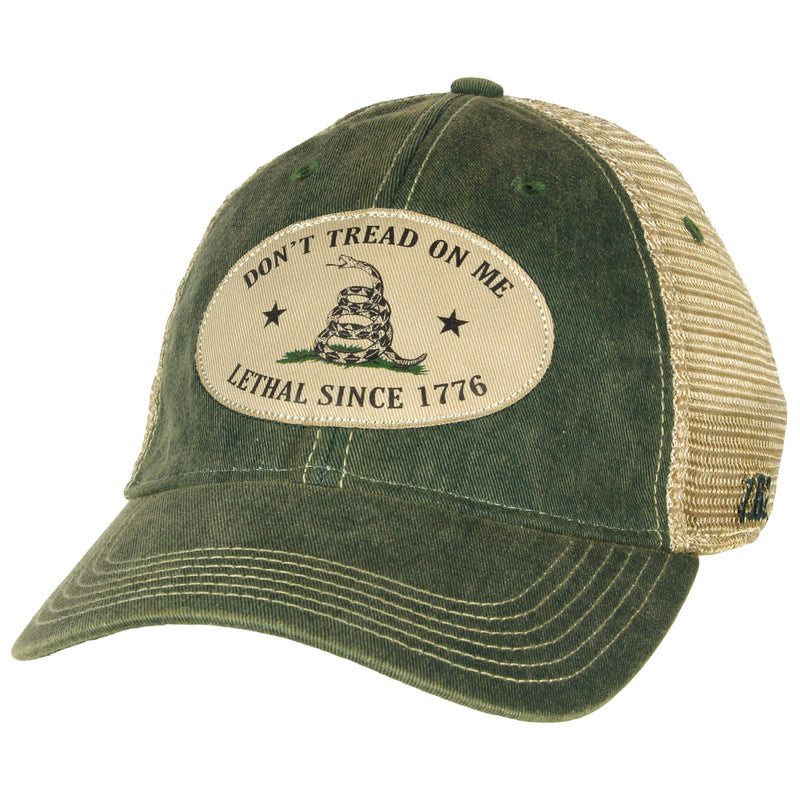 'Don't Tread On Me' Vintage Trucker Hat