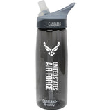 US Air Force .75 Liter Camelbak Eddy Bottle Charcoal/White- 7.62 Design