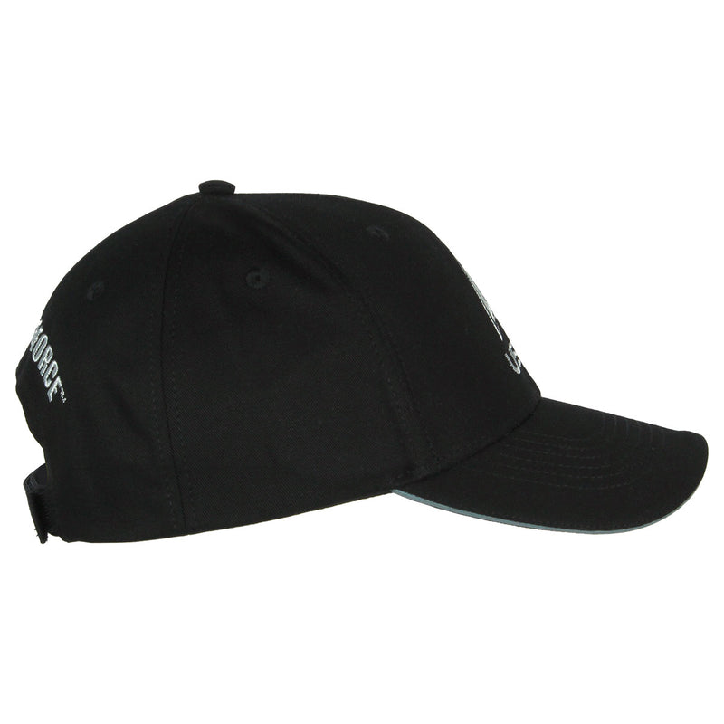 US Space Force Logo Twill Hat - Black