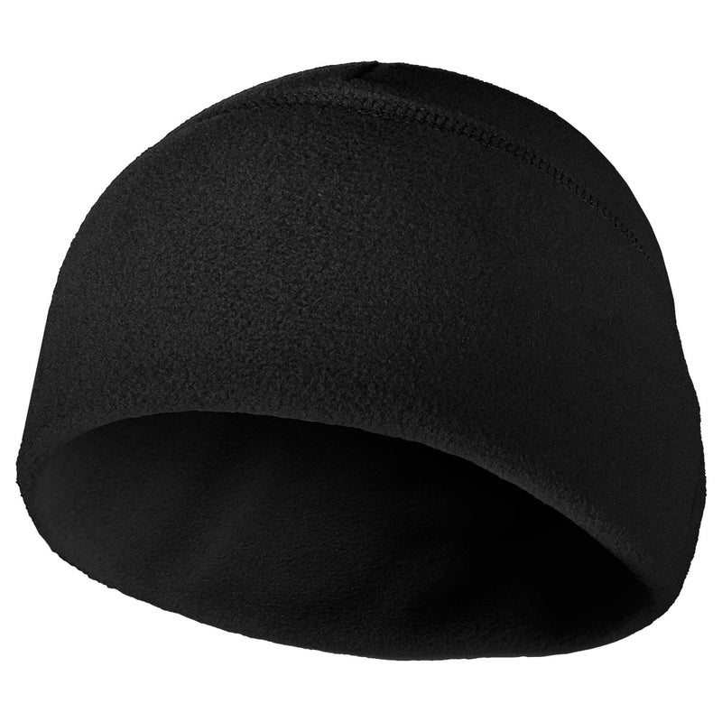 Polar Fleece Beanie Black - USA Made