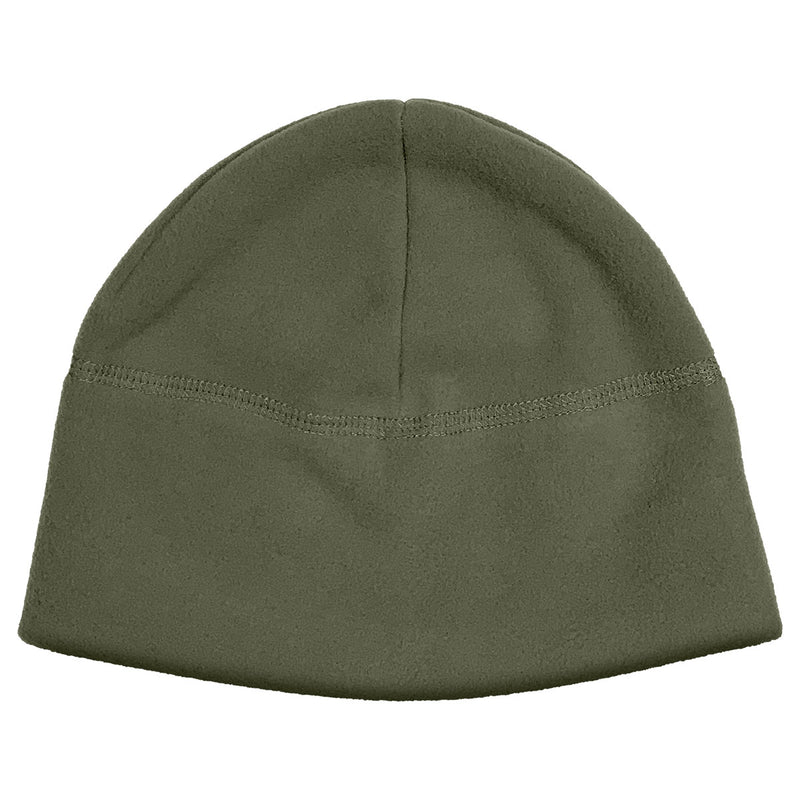 Polar Fleece Beanie Military Green - USA Made