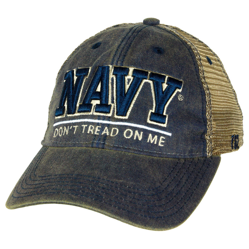 US Navy 'Don't Tread' Vintage Trucker Hat