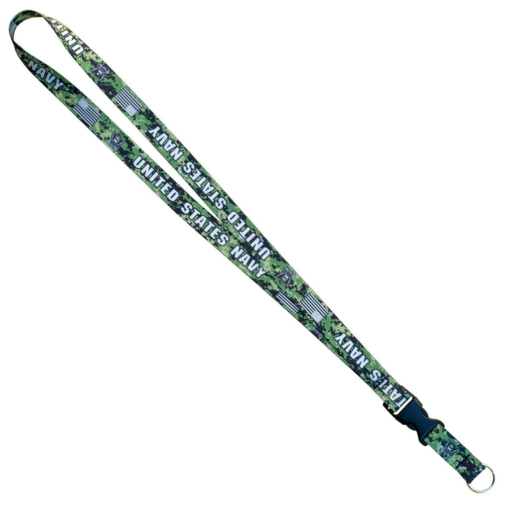 7.62 Design USN Camo Lanyard - Officially Licensed USN Product- 7.62 Design