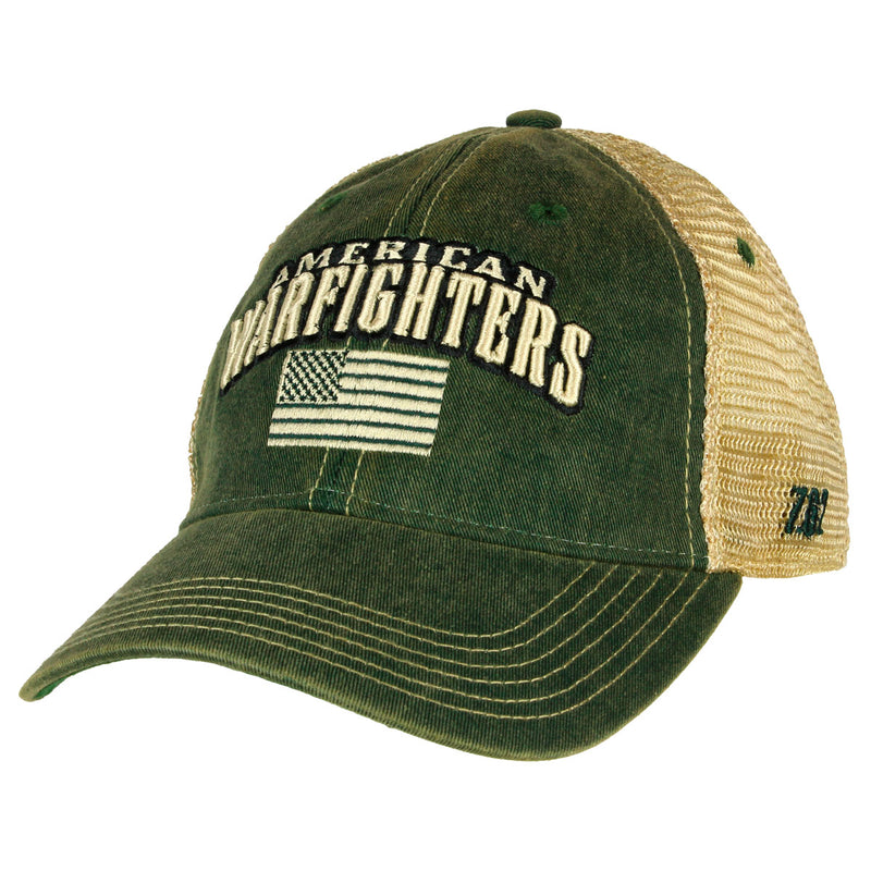 'American Warfighters' Vintage Trucker Hat
