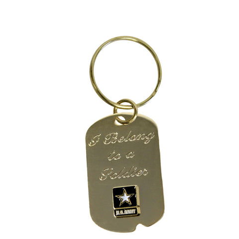 US Air Force 'Off Limits' Crest Craft Dog Tag Necklace