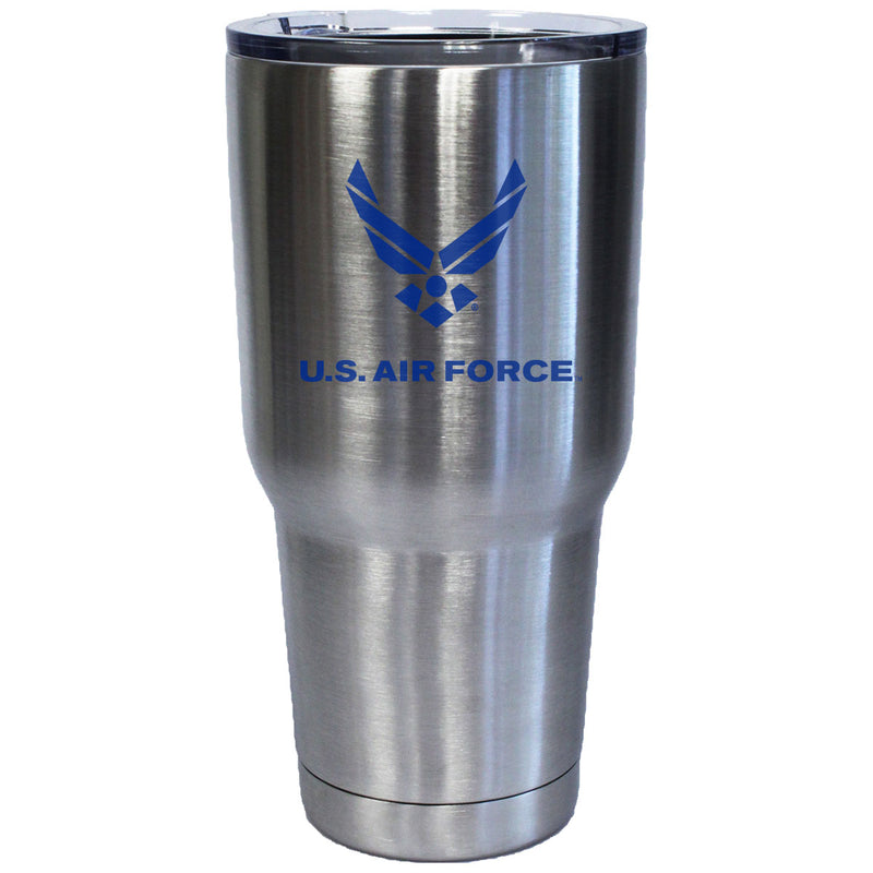 7.62 Design U.S. Air Force Logo Laser Etched 32oz Travel Mug - Officially Licensed