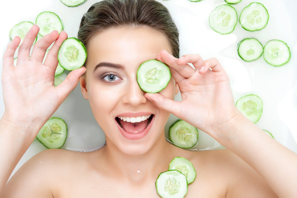 cucumber face masks