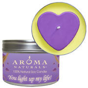 You Light Up My Life! - Purple Heart Large Tin