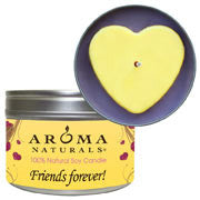 Friends Forever! - Yellow Heart Large Tin