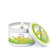 Citronella Plus - Soy Vegepure - Large Silver Tin