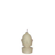 White Buddha Head - Votive