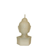 White Buddha Head - Medium