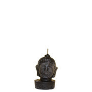 Black Buddha Head - Votive