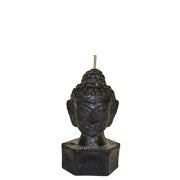 Black Buddha Head - Medium