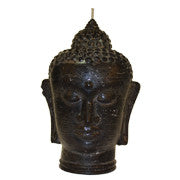 Black Buddha Head - Large