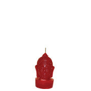 Red Buddha Head - Votive
