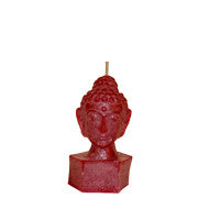 Red Buddha Head - Medium