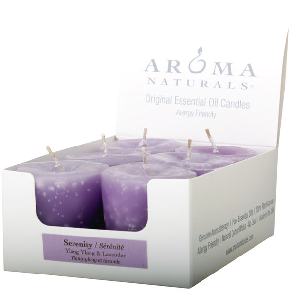 Serenity - Naturally Blended Votive 6-pack