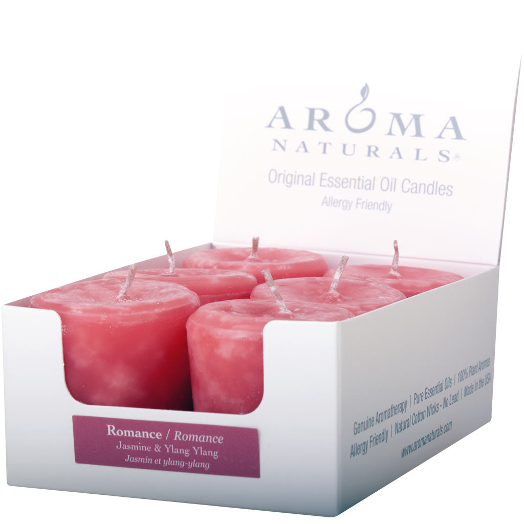 Romance - Naturally Blended Votive 6-pack