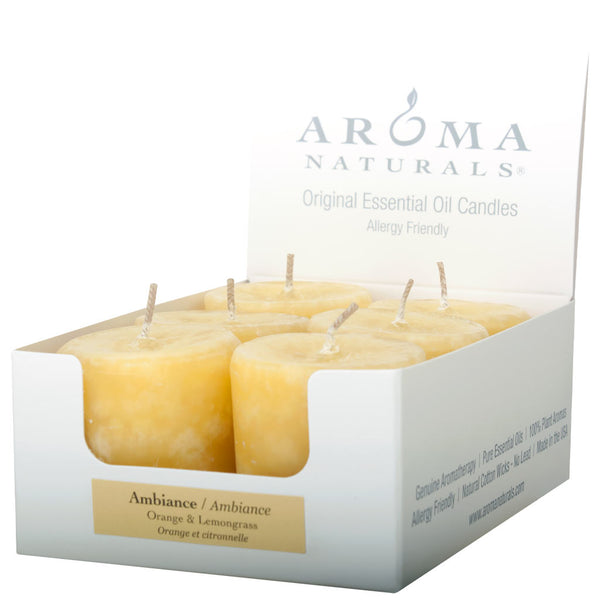 Ambiance - Naturally Blended Votive 6-pack