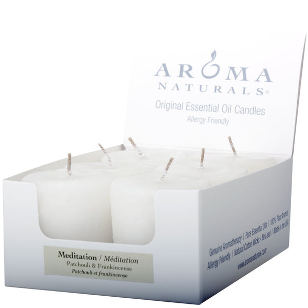 Meditation - Naturally Blended Votive 6-pack