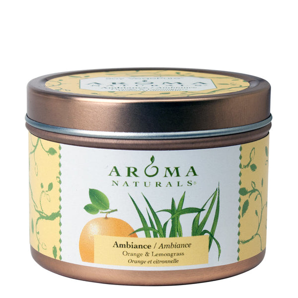 Ambiance - Soy VegePure Travel Tin