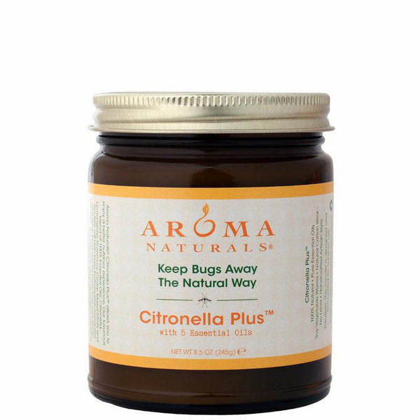 Citronella Plus - Soy Vegepure Glass Jar