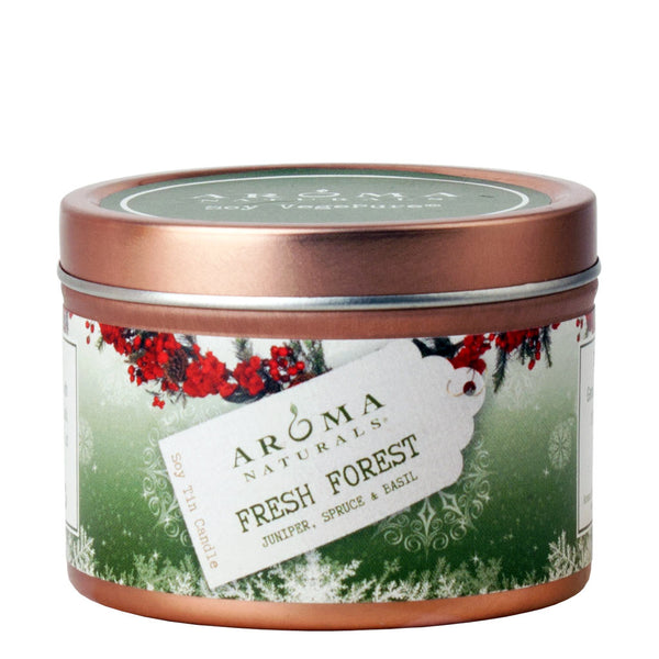 Fresh Forest Holiday - Soy VegePure Travel Tin