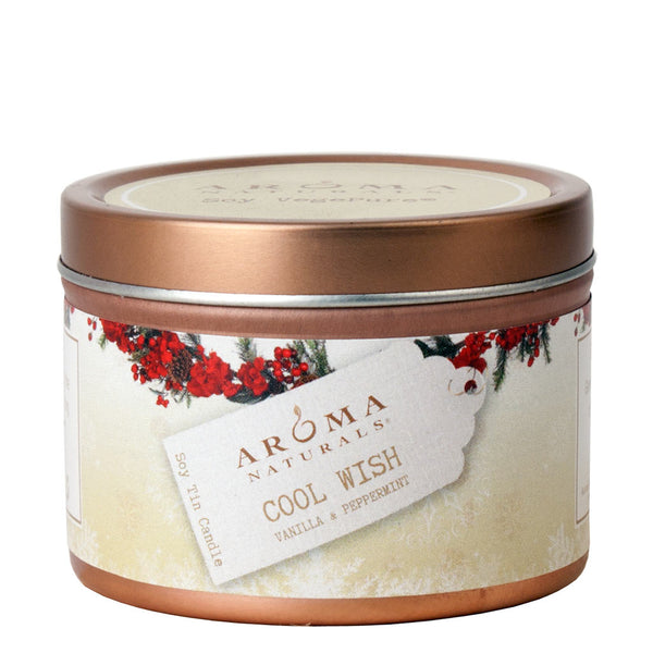 Cool Wish Holiday - Soy VegePure Travel Tin