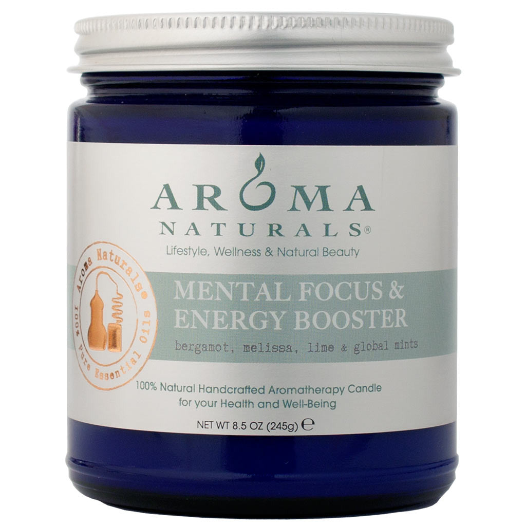 Mental Focus & Energy Booster<br>Aromatherapy Candle