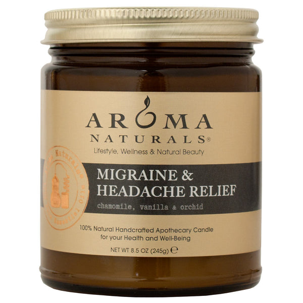 Migraine & Headache Relief<br>Apothecary Candle
