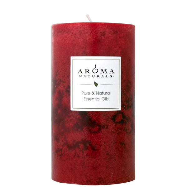 Peace Ruby Holiday - 2.75x5 Naturally Blended Pillar