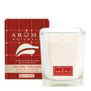 Peace Ruby Holiday - Soy Vegepure  - Poured Square Glass