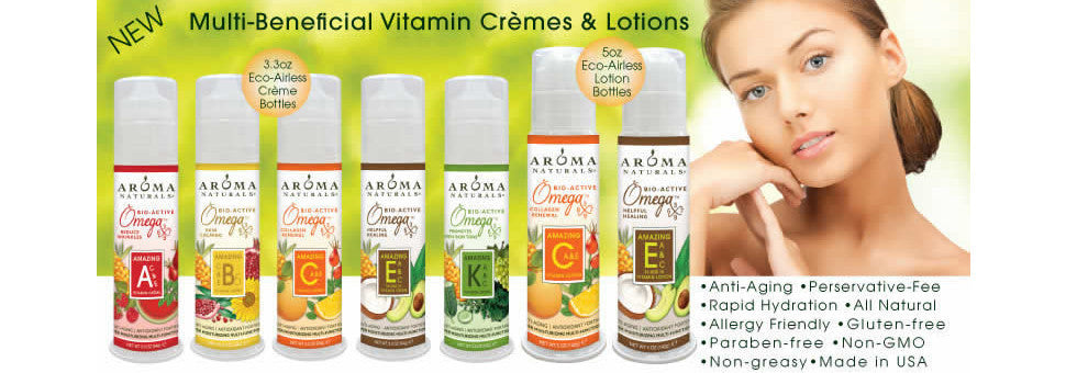 New Multi-Beneifical Hi-Vitamin Cremes & Lotions