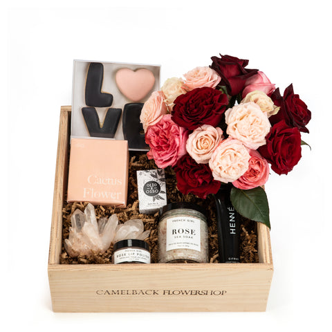 Phoenix Valentine's Day Gifts Camelback Flowershop Bloom Box